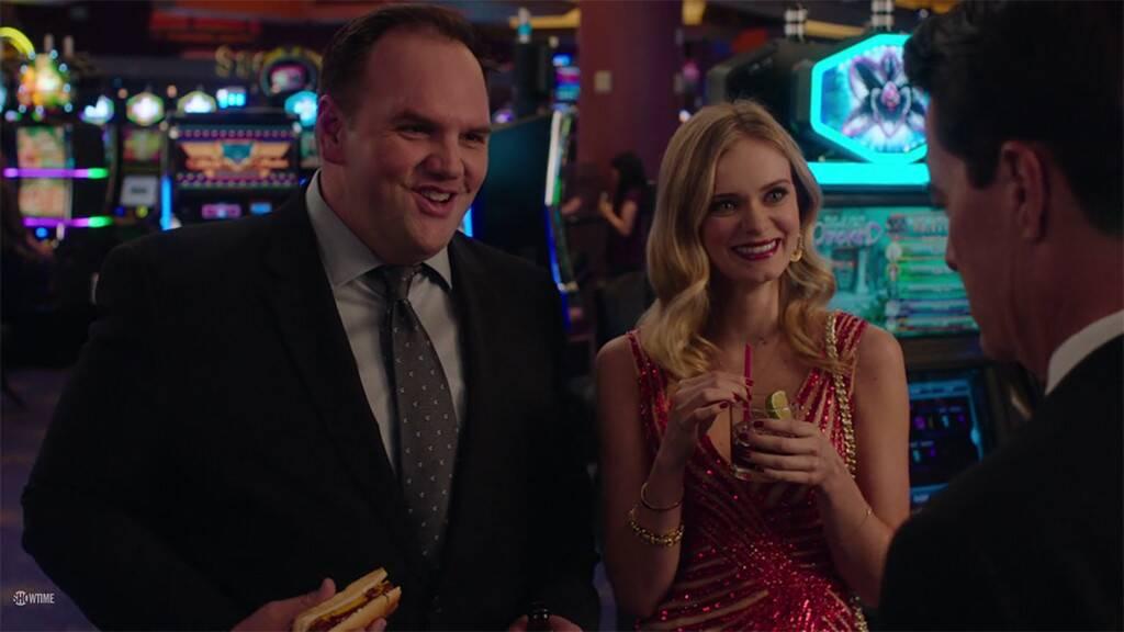 In a Casino, Bill and Candy Shaker speak to Dougie Jones.