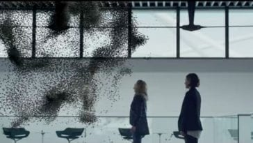 Fake bees swarm in Black Mirror Hated in the Nation