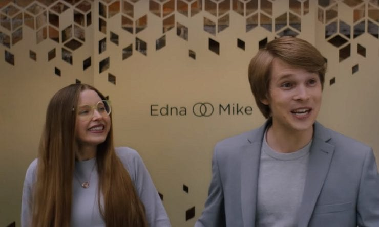 Edna and Mike are presented as a perfect match