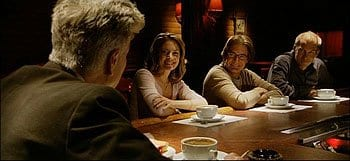 David Lynch, Madchen Amick and Kyle MacLachlan