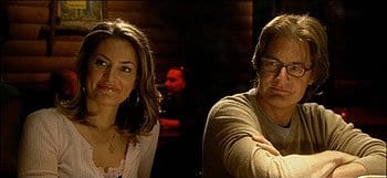 Madchen Amick and Kyle MacLachlan