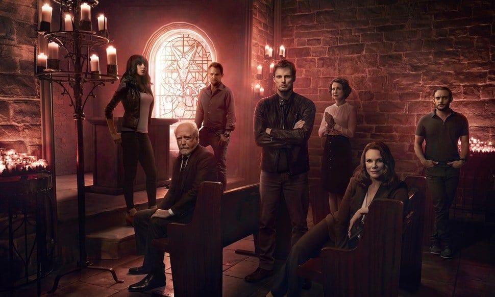 Cast of Damien on A&E