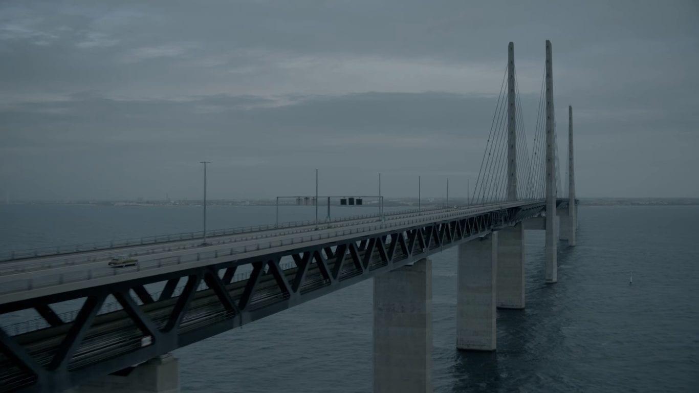 The iconic Øresund Bridge, which connects Malmö, Sweden with Copenhagen, Denmark