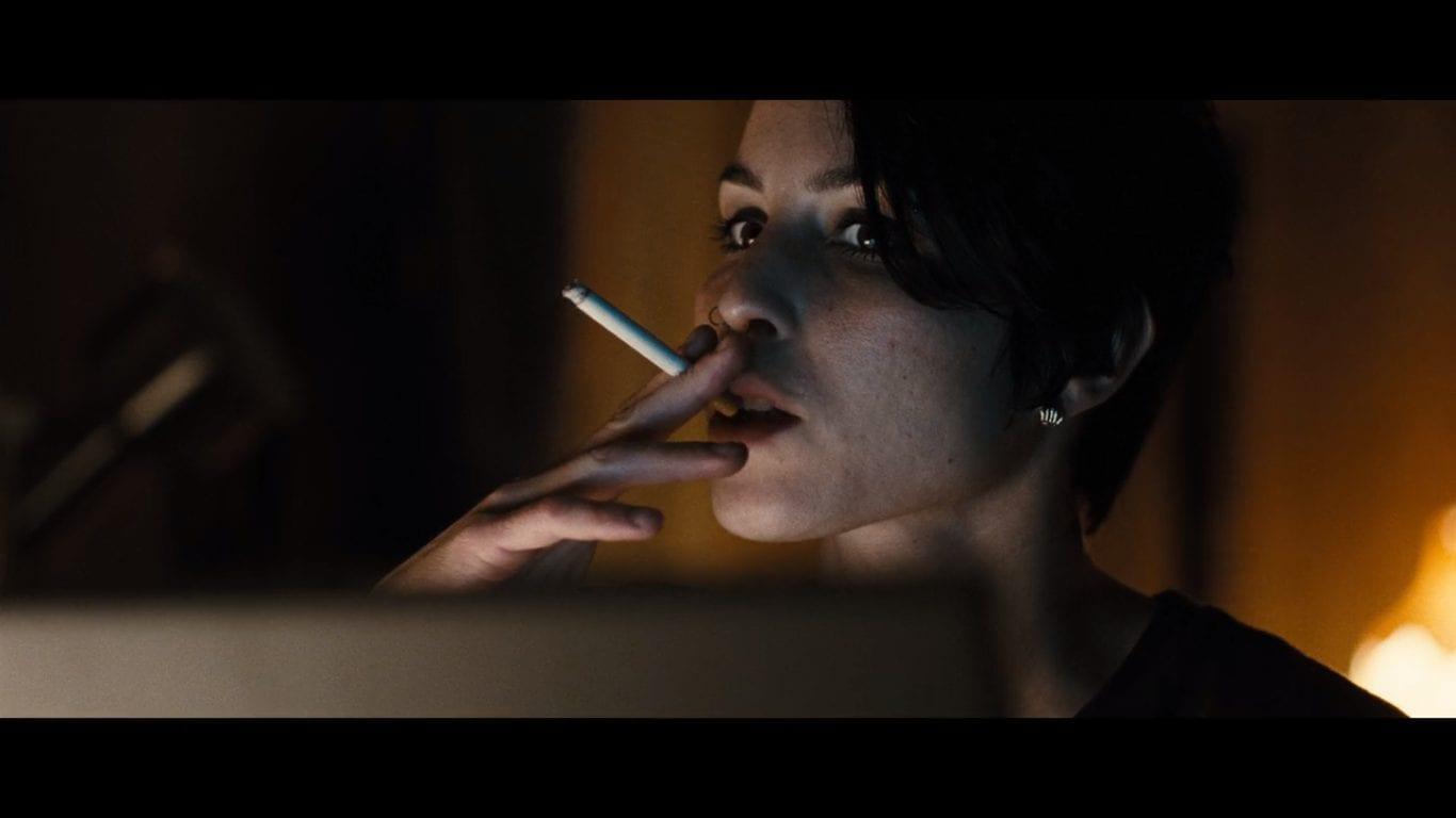 Noomi Rapace as Lisbeth Salander in Millennium