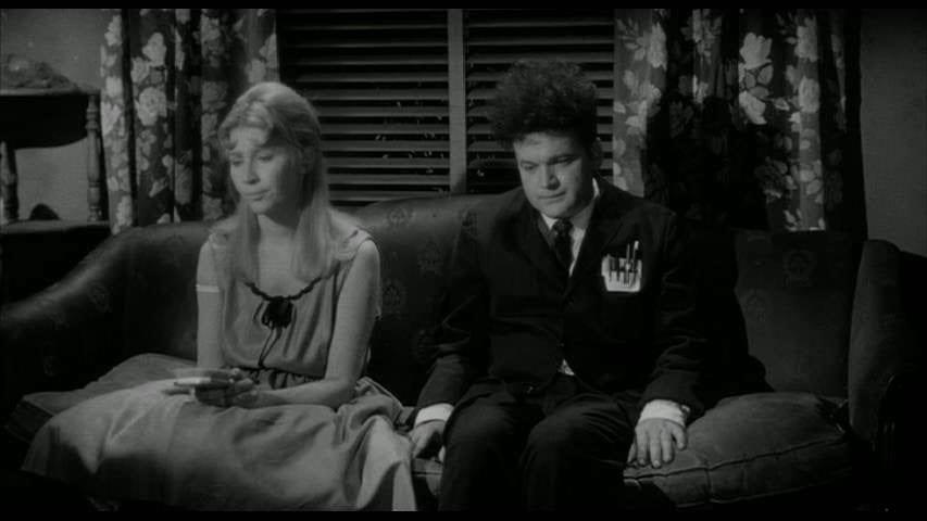 Charlotte Stewart with Jack Nance in Eraserhead