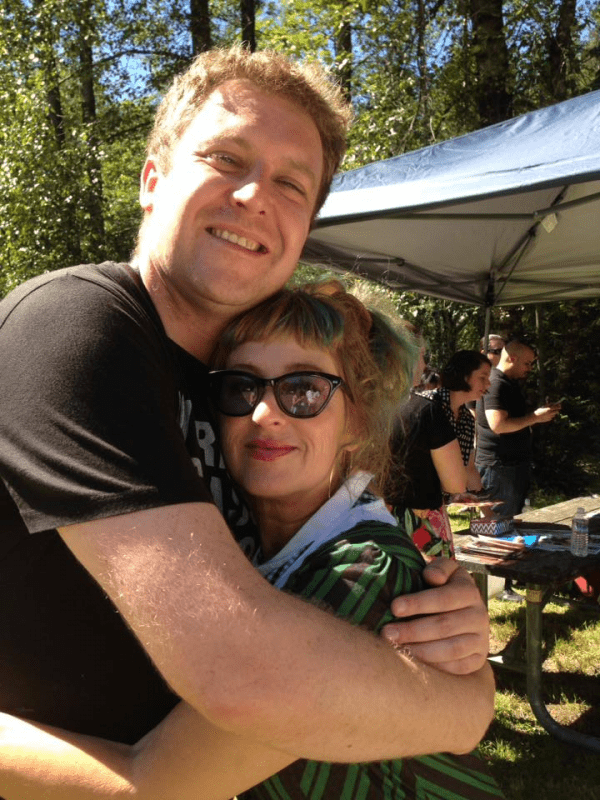 Mark and Kimmy Robertson at the Twin Peaks Festival