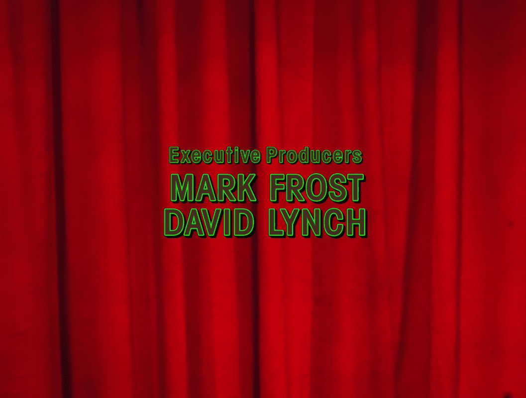 Mark Frost and David Lynch title screen