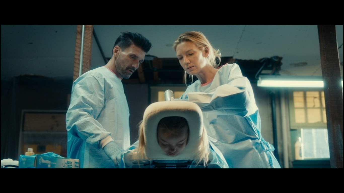 Frank Grillo and Anna Torv in Stephanie