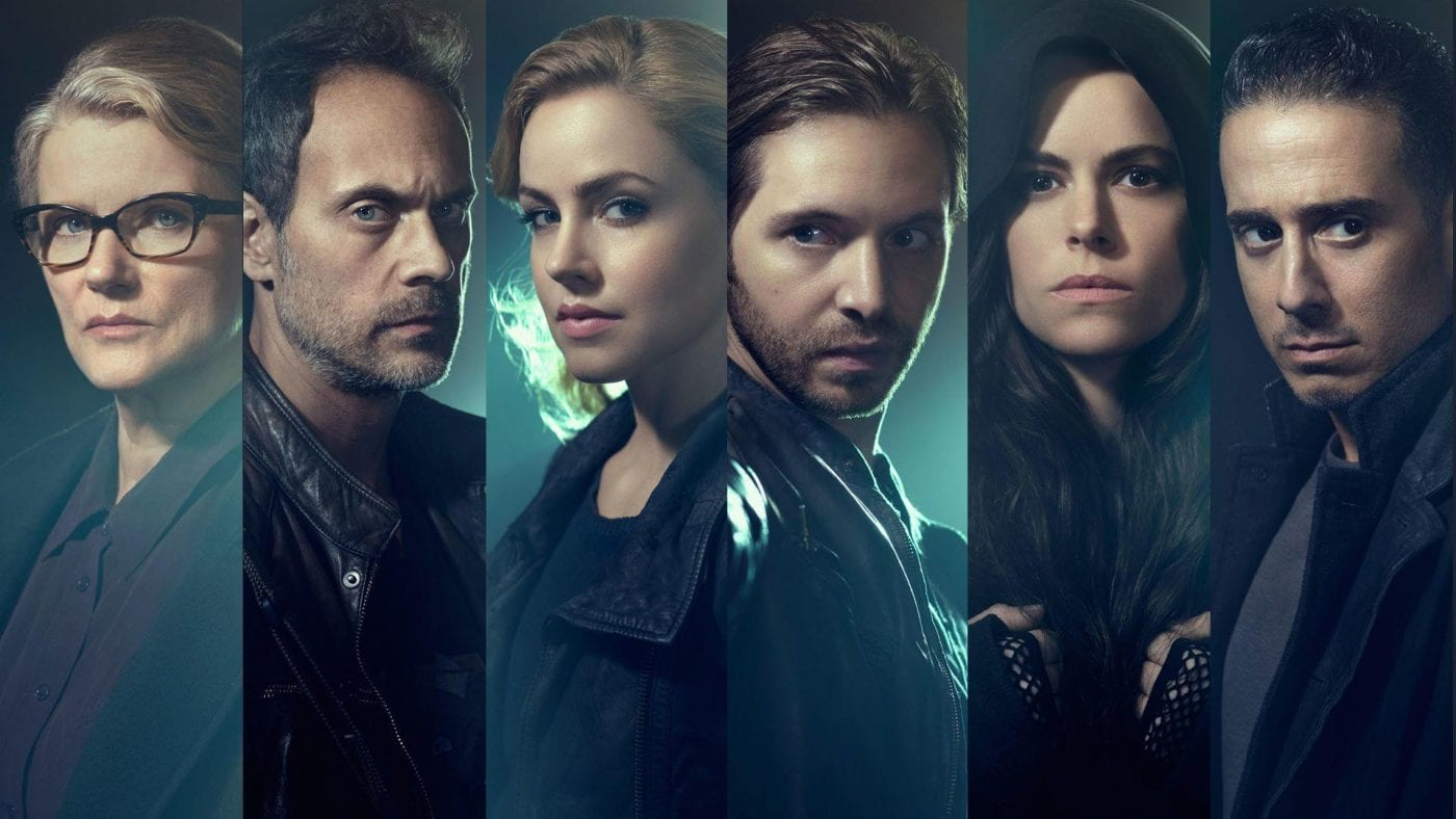 faces of the cast of 12 Monkeys