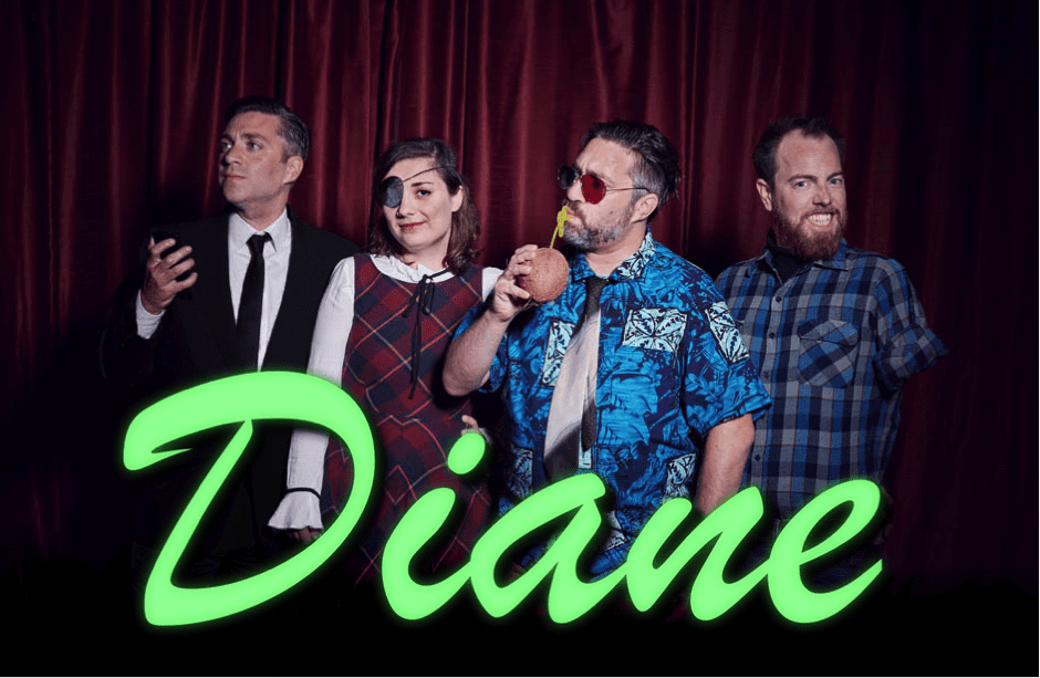 Diane podcast crew