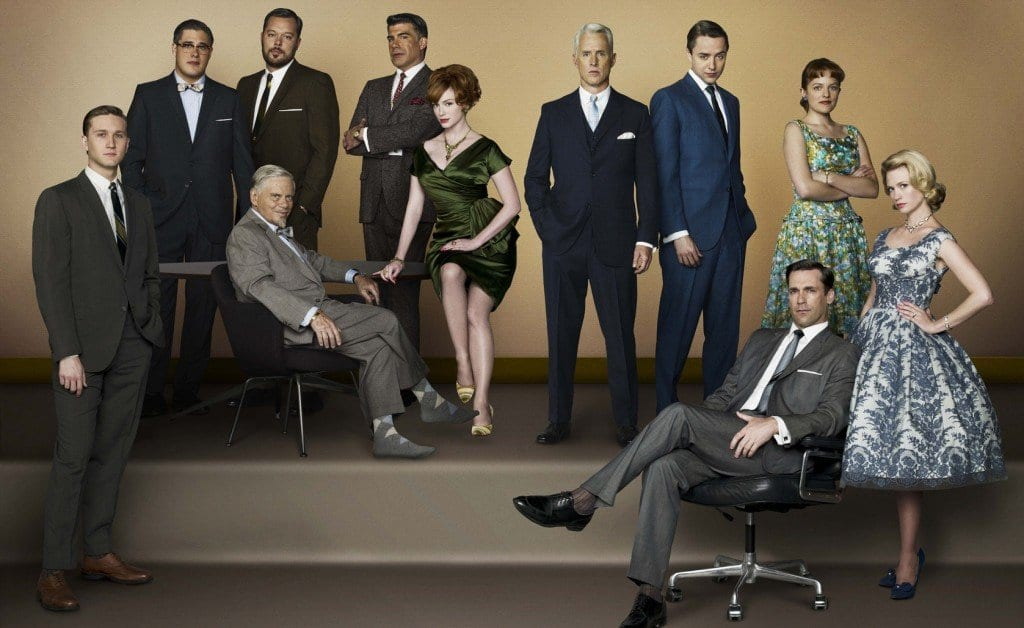 The cast of Mad Men season 1