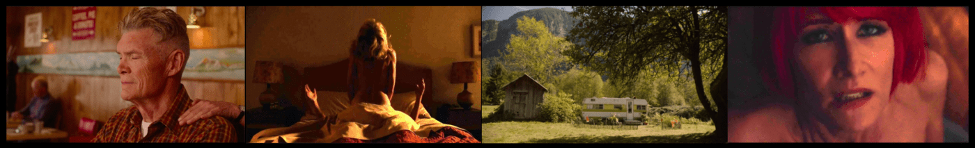 Twin Peaks The Return Collage 2: Blocking, Framing and Timing