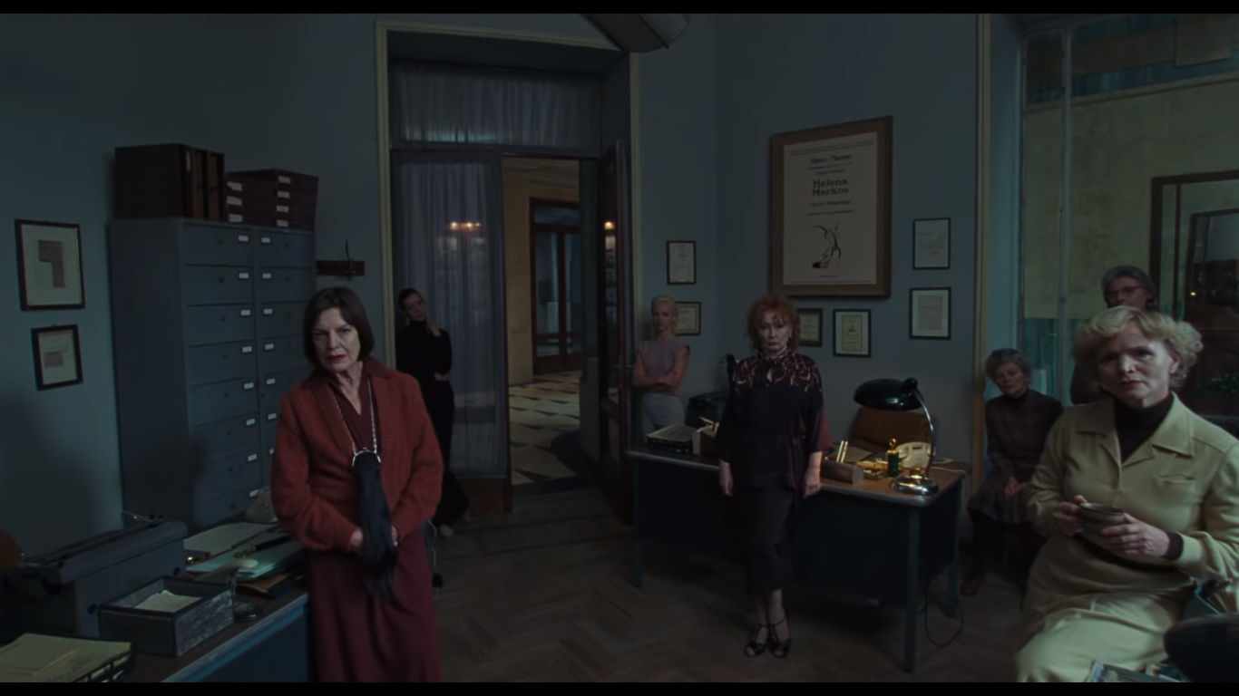 A presumed coven of witches in Suspiria