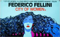 City of Women, Fellini, film poster