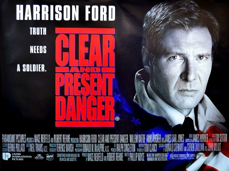 Film25YL: Clear and Present Danger | 25YL