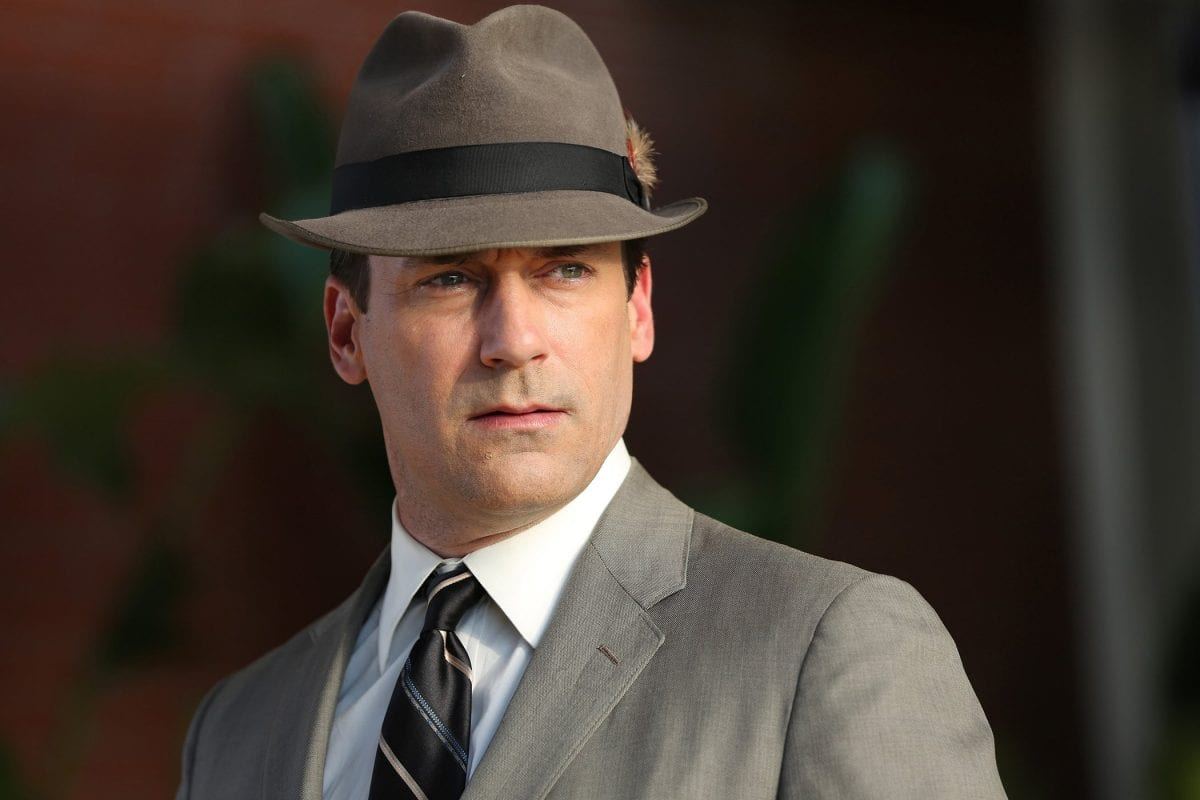 Don Draper played by Jon Hamm