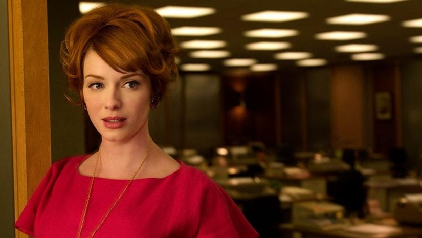 Joan  Holloway boss of the office girls in Mad Men