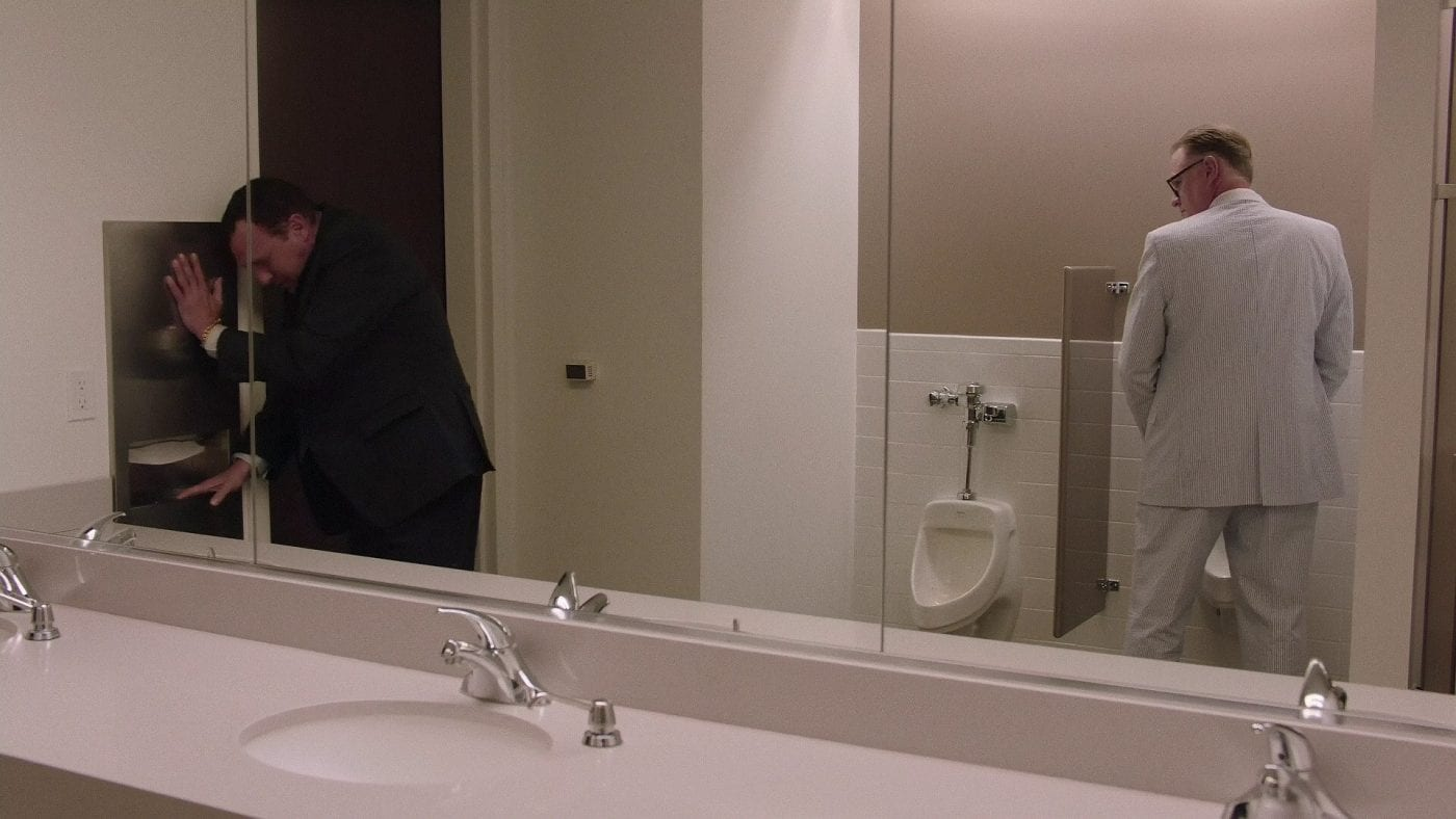 Mike Malone as a man urinating in Twin Peaks S3