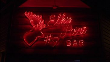 Elks Point Bar sign