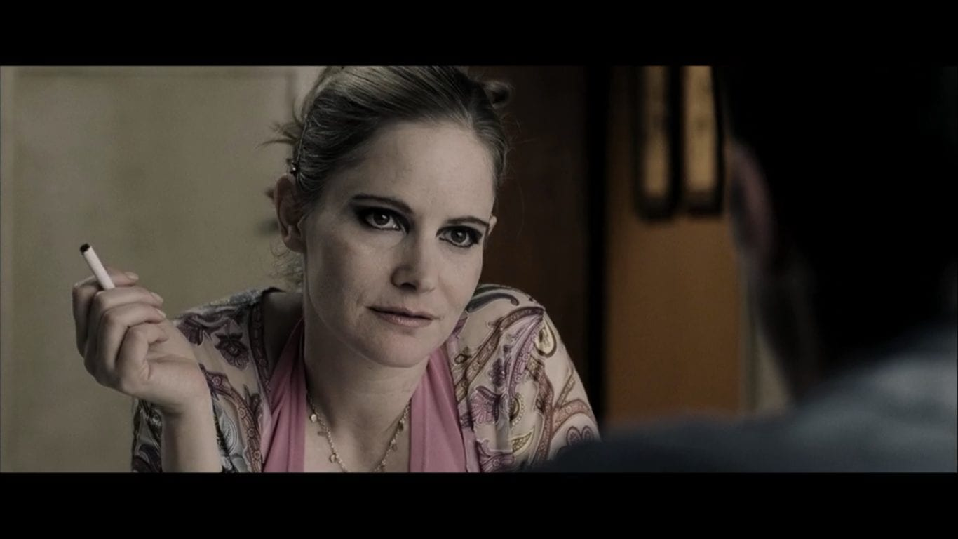 Jennifer Jason Leigh in The Machinist