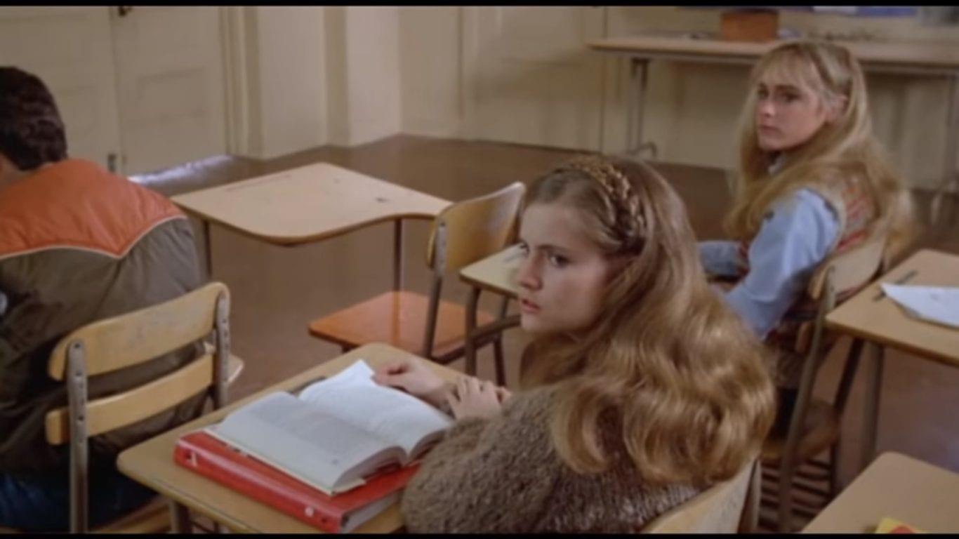 Jennifer Jason Leigh in Fast Times at Ridgemont High