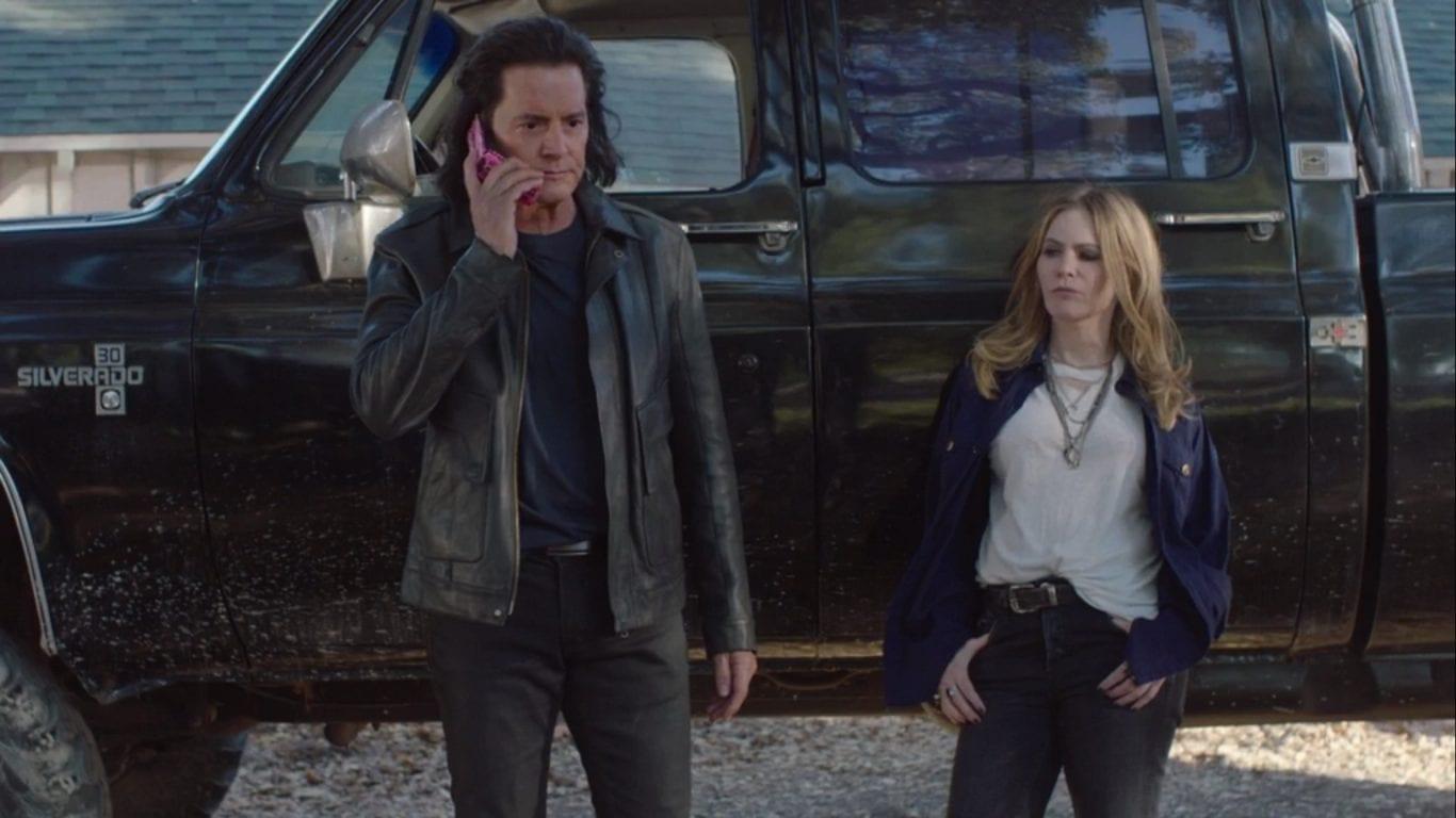 Jennifer Jason Leigh as Chantal in Twin Peaks
