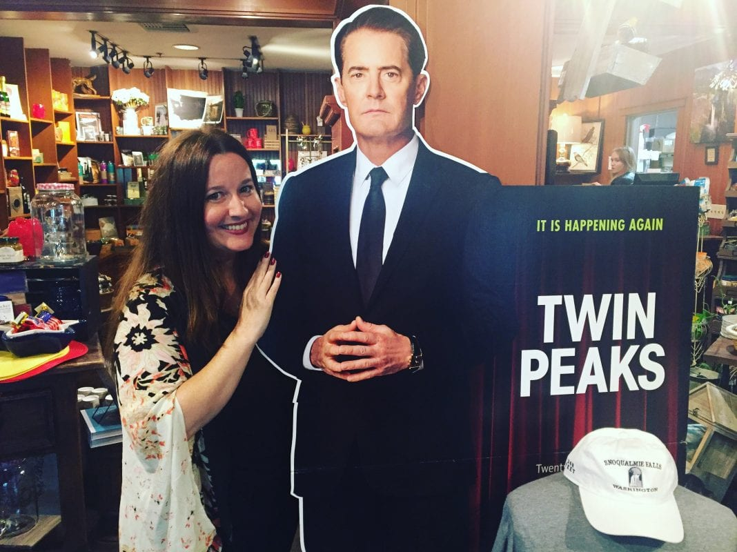 Courtenay and Agent Cooper