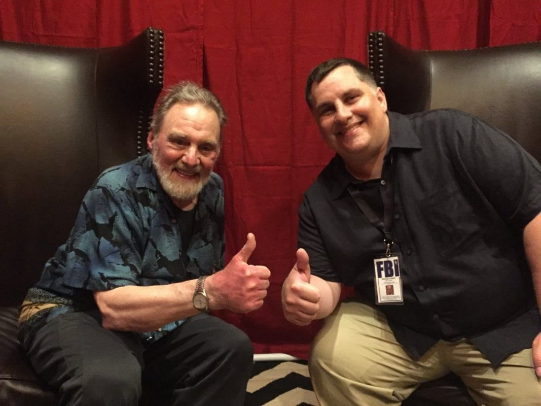 Ben with Al Strobel