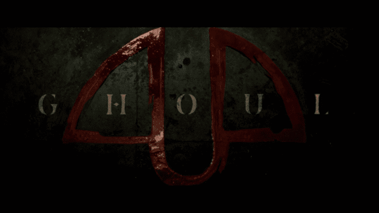 ghoul title screen