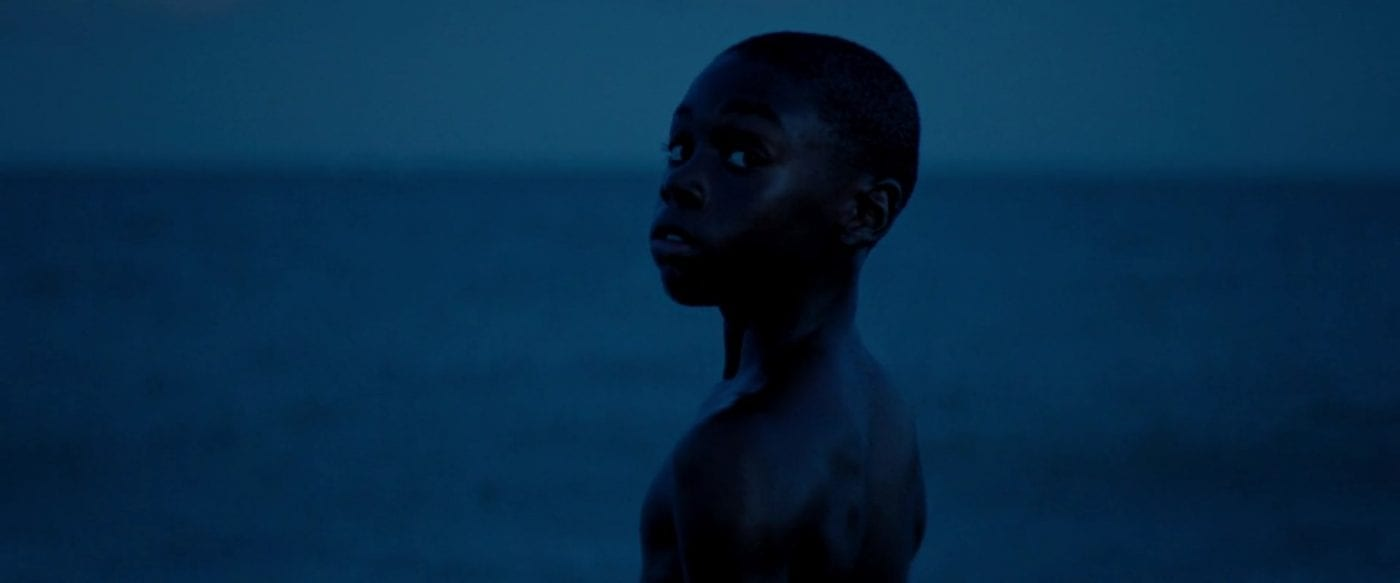 Alex Hibbert as Child Chiron in Moonlight