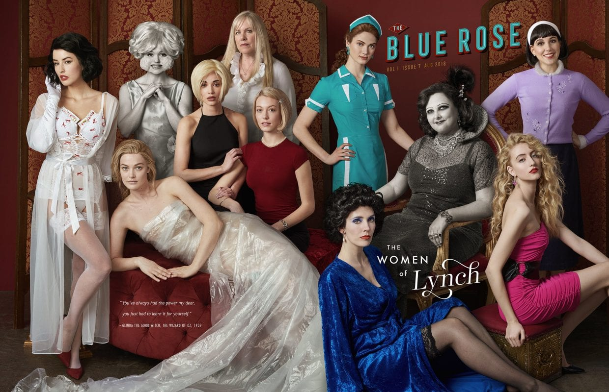 Blue Rose Magazine, Women of Lynch cover