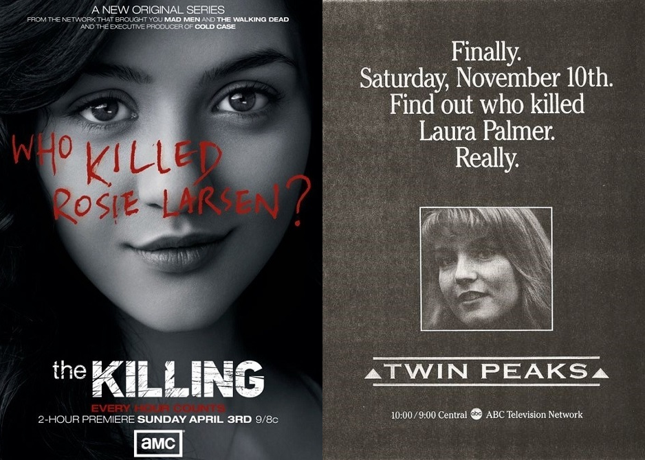Who killed Rosie Larsen and Laura Palmer?