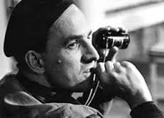 Ingmar Bergman sets up another shot.