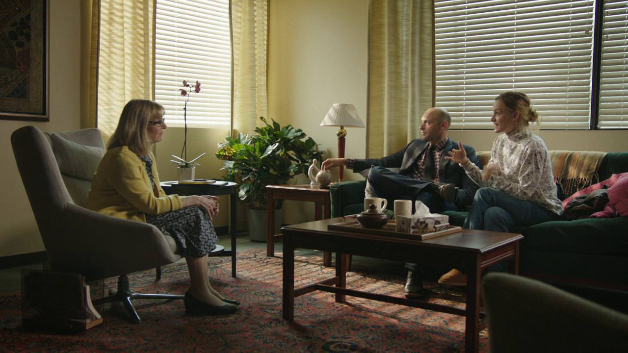 Michael and Shelly at couples' therapy