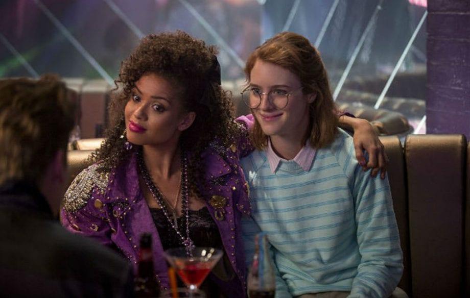 """Kelly and Yorkie looking 80s in Black Mirror's """"San Junipero"""""""