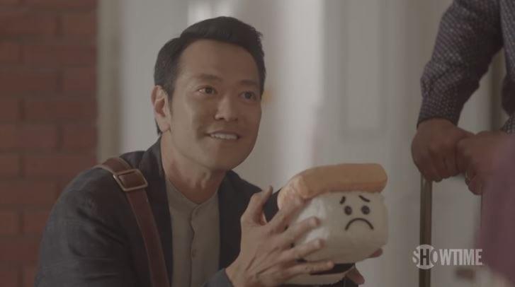 Mr. Pickles-san in Showtime's Kidding