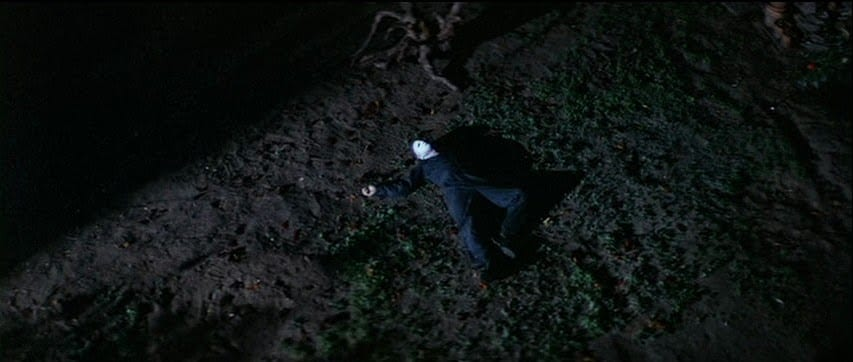 Michael Myers appears dead on the ground