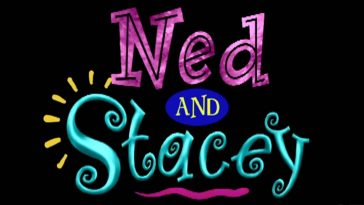 Ned and Stacey title screen