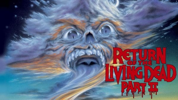 Return of the Living Dead 2 film poster