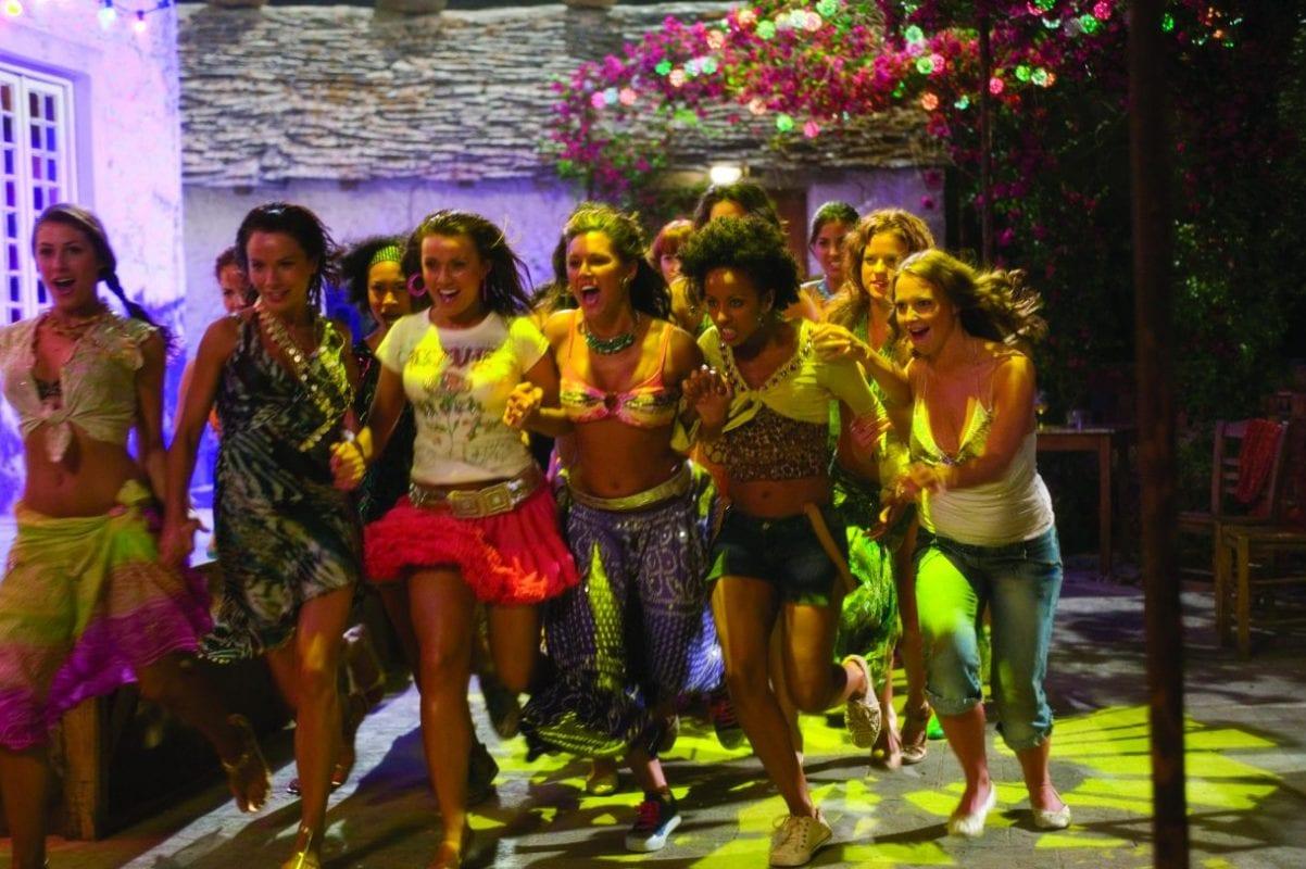 Scene from Mamma Mia!