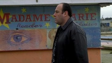 Tony Soprano in dreams