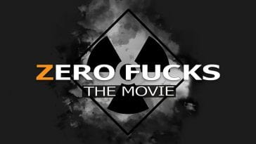 Zero Fucks the movie logo