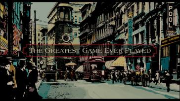 The opening titles to The Greatest Game Ever Played