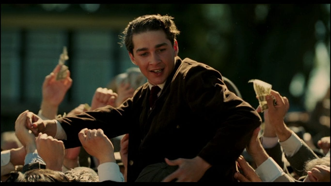 Shia LaBeouf as Francis Ouimet in The Greatest Game Ever Played