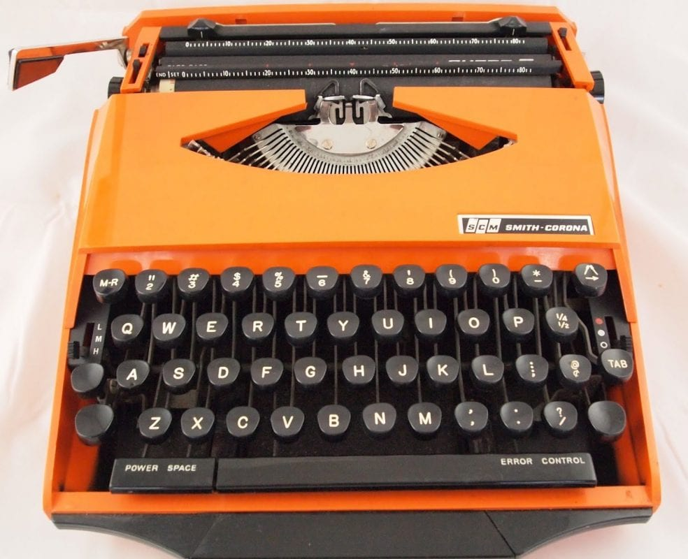 Corona Super G typewriter