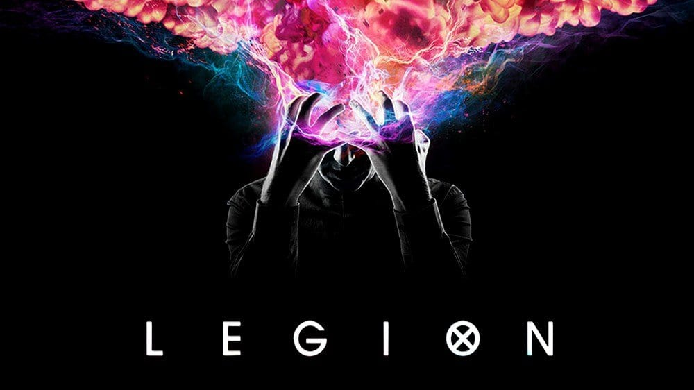 Title cover for Legion on FX, the X-Men series starring Dan Stephens, created by Noah Hawley