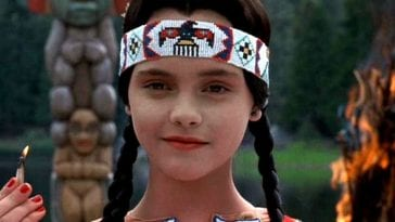Christina Ricci is Wednesday Addams in The Addams Family Values