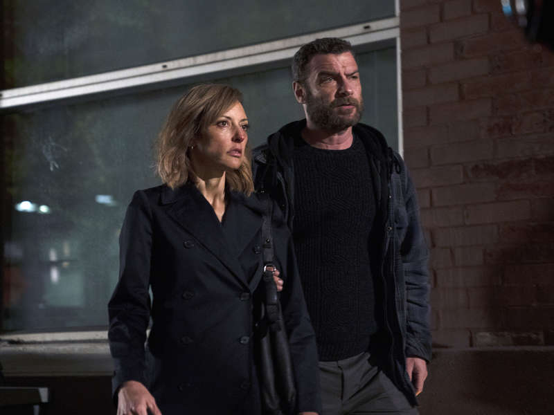 Ray (Liev Shrieber) and Anita (Lola Glaudini), Series 6 Episode 2 of Ray Donovan on Showtime