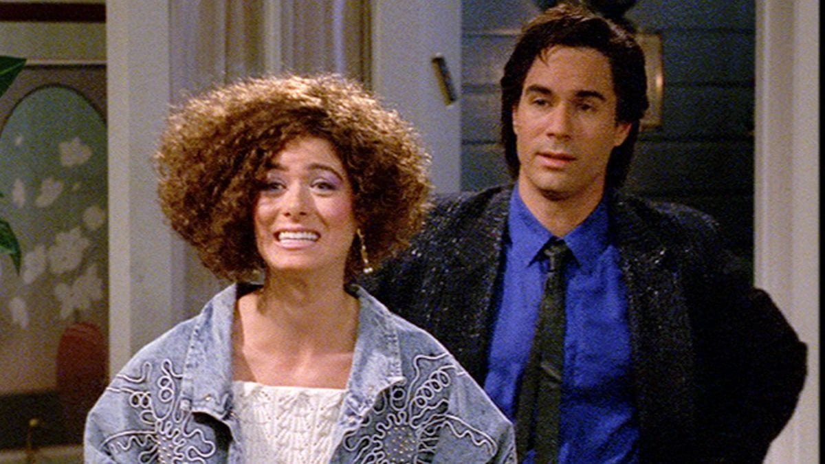 Will & Grace in the Season 3 episode 'Lows in the Mid Eighties'