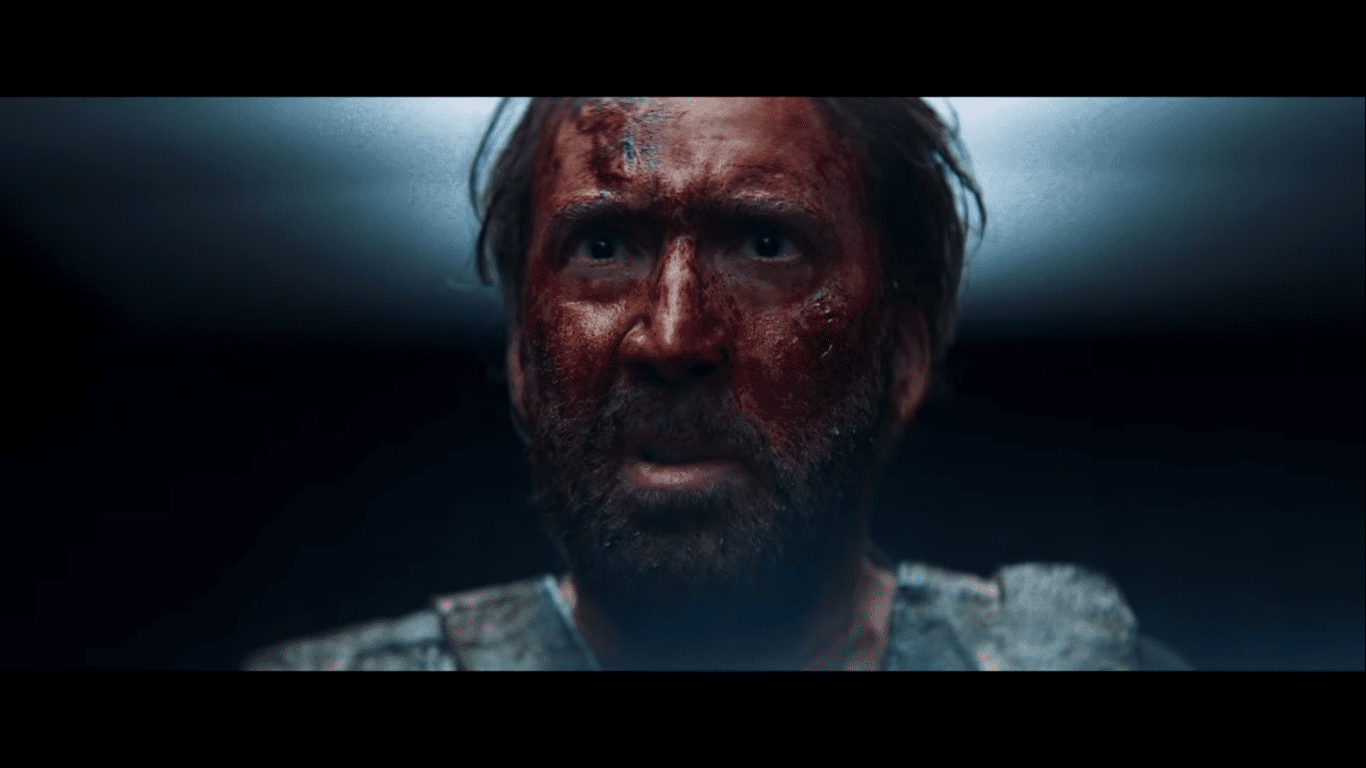 Nicolas Cage as Red Miller in Mandy